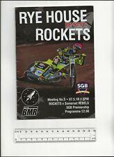 More details for jason doyle speedway world champion autograph prog rhe house rockets v somerset