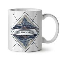 Motivational NEW White Tea Coffee Mug 11 oz | Wellcoda
