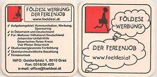 """Földesi Werbung, Graz - Bierdeckel """"Der Ferienjob"""""""
