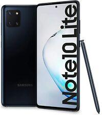 Samsung Galaxy Note 10 Lite Aura Black, Dual SIM, 6GB 128GB, Official Warranty
