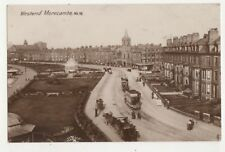Westend Morecambe Lancashire Vintage RP Postcard 717b