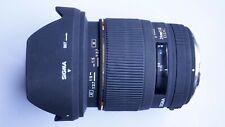 SIGMA OLYMPUS 4/3 FIT EX DG 24mm f/1.8 + CAPS + HOOD 24 mm FOUR THIRDS