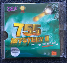 729 TABLE TENNIS RUBBER  755 MYSTERY III LONG PIMPS Red , SHIP FROM CA