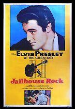 JAILHOUSE ROCK * CineMasterpieces 40x60 ORIGINAL MOVIE POSTER 1957 ELVIS PRESLEY