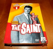 THE SAINT The Early Episodes Set 1 TV Spy Classic Series Roger Moore 3 DVD NEW