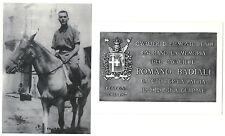 MILITARIA, PIEMONTE REALE CAVALLERIA, 2 CARTOLINE CAV. ROMANO BADIALI     m