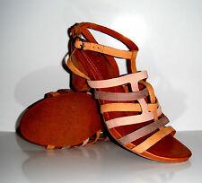 $175 New Naya Tatiana Gladiator Inspired Leather Strap Sandal Shoe sz 9.5Wide