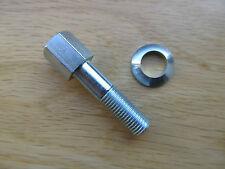 70-0409 TRIUMPH T120 TR6 pre1968 BONNEVILLE EXHAUST CLIP CLAMP BOLT CEI THREAD