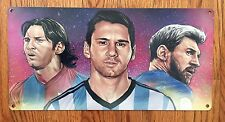 Lionel Messi Soccer Futbol FC Barcelona Spain Argentina La Liga Metal Poster