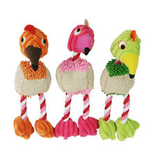1PC Bird Shape Pet Puppy Chew Squeaker Squeaky Sound Plush Toy For Small Dogs