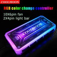 COOLMOON RGB Light Remote Dimmer DC12V 5A LED RGB Color Intelligent Controller