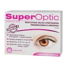 SuperOptic, 60 capsules - support correct vision