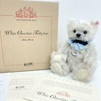 F/S Steiff 2003 Japan Limited 1,500 White Chocolate Teddy Bear Cake series