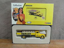 CORGI HERITAGE COLLECTION BERGER 74702 CITROEN TYPE 55 Bouteille BERGER Neuf NIB