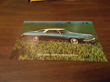 1974 Buick LeSabre Hardtop Coupe Advertising Postcard
