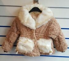 Girls' Winter Faux Fur Coats, Jackets & Snowsuits (2-16 Years)