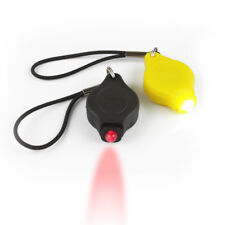 Bright posteriore & anteriore bici ciclo di luci LED rosso bianco elasticizzato e staccabile