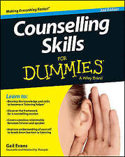 Counselling Skills for Dummies 2E by Gail Evans (Paperback, 2013)