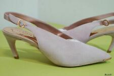 TED BAKER HULIA PINK SUEDE HEELS COURTS PUMPS SHOES SIZE 4 37 RRP £129!!! NEW!!!