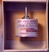 Lucas MSI  RVDT DC Rotary Variable Differential Transformer R30D Schaevitz