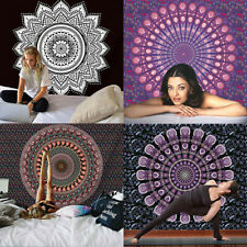 Indian Mandala Tapestry Bohemian Bedspead Beach Towel Yoga Mat Deco Wall Hanging