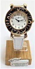 Orologio Donna bianco color oro watch in Vetro di Murano