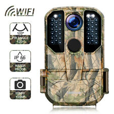 Campark Wifi Wildkamera 20MP HD 1296P Trail Jagd Spiel Kamera IR Nachtsicht IP66