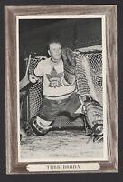 1964-67 Beehive Group III Toronto Maple Leafs Photos #158 Turk Broda