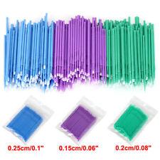 100pcspack Disposable Material Dental Micro Brush Applicator Sml 152025