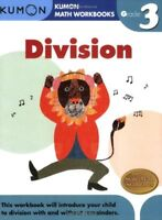 Division Grade 3 Kumon Math Workbooks