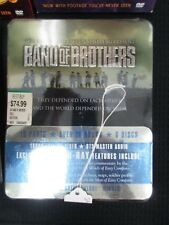 "TOM HANKS & STEVEN SPIELBERG PRESENT ""BAND OF BROTHERS"" BLU-RAY IN FACTORY SEAL"