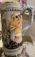 Capodimonte Beer Stein Antique/ Numbered. Excellent Condition!!