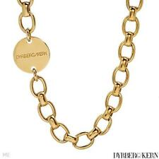 DYRBERG/KERN of DENMARK! Goddess Collection New Shiny Gold  Finish Necklace