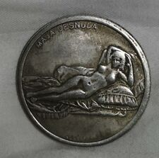 Da Vinci Silver Coin Leonardo Code Naked Painting 1452 1519 Art Vatican Italian