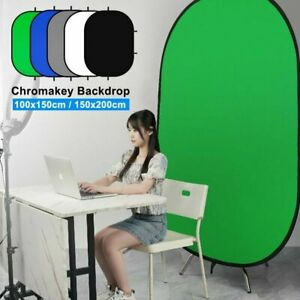 Selens Portable Photography Background Green Screen Backdrop for Portrait Video