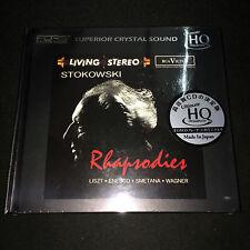 Stokowski Rhapsodies Liszt Enesco Wagner Smetana Ultimate HiQuality UHQ CD Japan