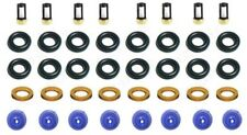 Fuel Injector Repair Service Kit Seals Filters Pintle Caps for Ford V8