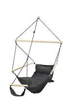 Swing Chair Hängesitz Hängesessel Schwarz Wetterfest Amazonas