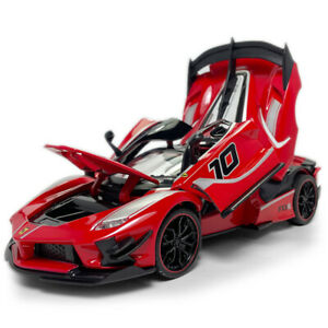 Ferrari FXX K Supercar 1:24 Model Car Diecast Toy Vehicle Kids Collection Red