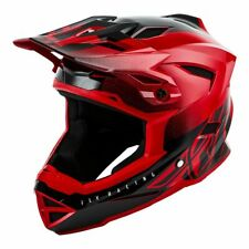 Fly Racing 2019 Adult Default Dither MTB Downhill BMX Helmet - Red/Black