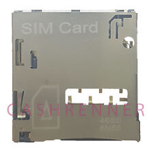 SIM Konnektor Karten Leser Halter Card Reader Connector Slot HTC One Max