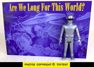 Gort robot articulated miniature with display - The Day the Earth Stood Still