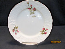 "ROSENTHAL ""IVORY ROSE"" SANSSOUCI SHAPE 5 DINNER PLATES  DISCONTINUED 1996"