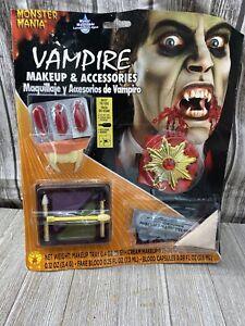 Rubie's Vampire Makeup Set & Accessories Halloween Costume Fake Blood & Teeth 49