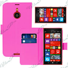 CASE COVER COVERS FOLDING WALLET LEATHER PINK NOKIA LUMIA 1520