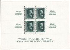 GERMANY, 1936. Reich Souvenir Sheet Block 11,  Mint **