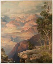 1912 Thomas Moran The Grand Canyon of Arizona from Hermit Rim