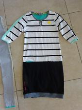 Ninni Vi Sweat-Kleid, Gr. 158/164, schwarz weiß, w. neu