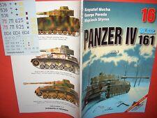 Kagero photosniper fotosnajper 16 Alt, Panzer IV sd.kfz.161 & Free Decals
