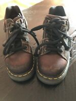 dr doc martens Ladies  Sz 6 Brown Oxford Shoes